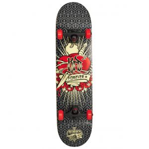 "Скейтборд KFD Young Gunz Complete Skateboard 31.5"" Tattoo Heart"