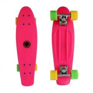 Скейтборд Explore Penny Board 22 (розовый)