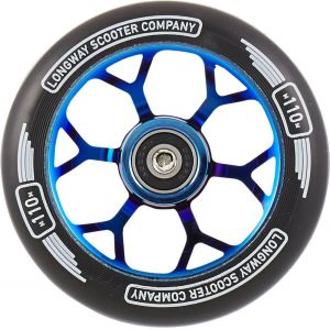 Колесо Longway Precinct 110mm Pro Scooter Wheel Blue Neochrome
