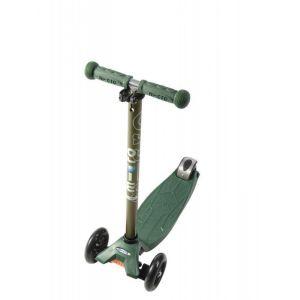 Самокат Maxi Micro Camo Green Metallic T (темно-зеленый)