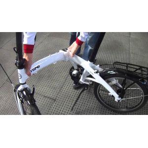 Велосипед 20'' PRIDE MINI 1sp (белый глянцевый)