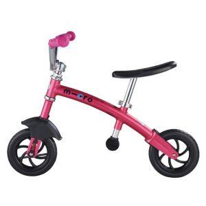 Беговел Micro G-Bike Chopper Deluxe Pink (розовый)