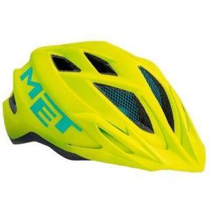 Шлем защитный Met Crackerjack lime/green (зеленый)