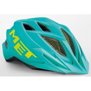 Шлем защитный Met Crackerjack emerald/green (зеленый)