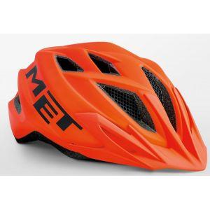 Шлем защитный Met Crackerjack orange (оранжевый)