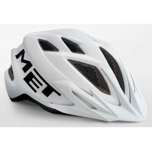 Шлем защитный Met Crackerjack white (белый)