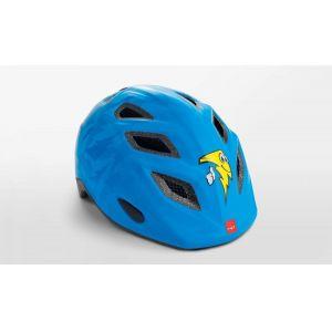 Шлем защитный Met Elfo & Genio lightning (синий)