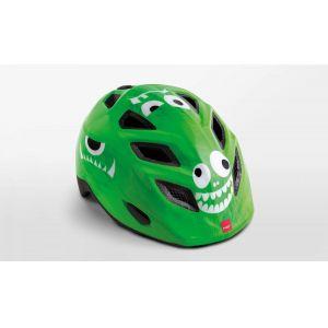 Шлем защитный Met Elfo & Genio green monsters (зеленый)