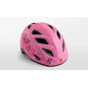 Шлем защитный Met Elfo & Genio pink butterflies (розовый)