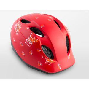 Шлем защитный Met red animals (животные)