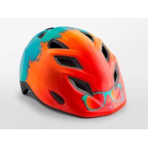 Шлем защитный Met Elfo & Genio Orange Rayban Glossy (оранжевая)