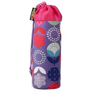 Держатель для бутылки Micro Purple Floral Dot