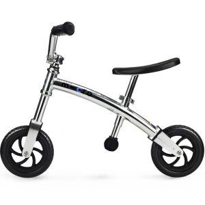 Беговел Micro G-Bike+ Chopper silver (серебристый)