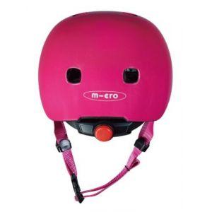 Шлем защитный Micro Raspberry glossy LED