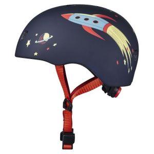 Шлем защитный Micro Rocket matt LED УЦЕНКА
