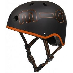 Шлем защитный Micro Black-Orange