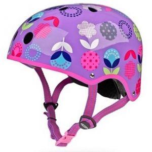 Шлем защитный Micro Floral Dot Purple
