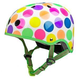 Шлем защитный Micro Neon Dots