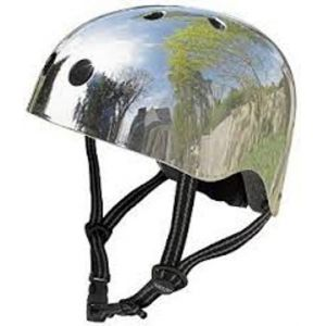 Шлем защитный Micro Silver