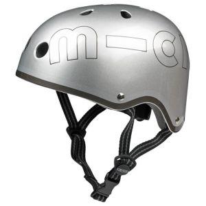 Шлем защитный Micro Metallic Silver