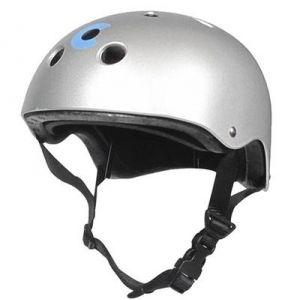 Шлем защитный Micro Silver Matt