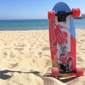 "Скейтборд Fish Skateboards Cruiser Pike 26"" (желтый)"