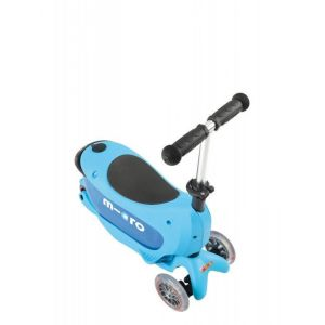 Самокат Micro Mini2Go Blue Deluxe (голубой)