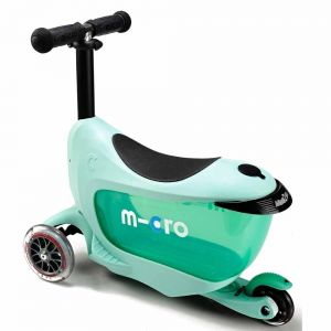 Самокат Micro Mini2Go Mint Deluxe Plus (мятный)