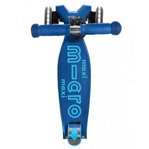 Самокат Maxi Micro Deluxe Navy Blue LED (синий)