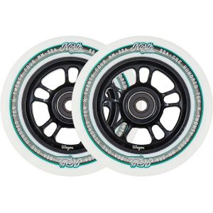 Колесо для трюкового самоката North Wagon 110mm Pro Scooter Wheel White Black