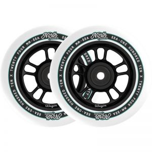 Колесо для трюкового самоката North Wagon 110mm Pro Scooter Wheel Matte Black