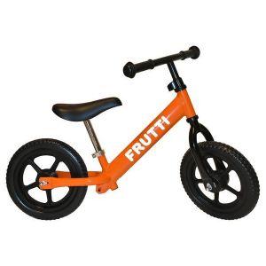 "Беговел Frutti 12"" Orange black wheels (оранжевый/черный)"