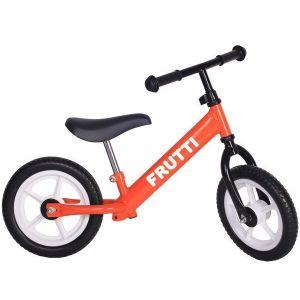 "Беговел Frutti 12"" Orange white wheels (оранжевый/белый)"