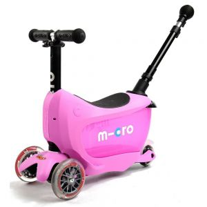 Самокат Micro Mini2Go Pink Deluxe Plus (розовый)