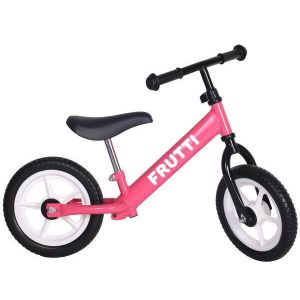 "Беговел Frutti 12"" Raspberry white wheels (розовый/белый)"