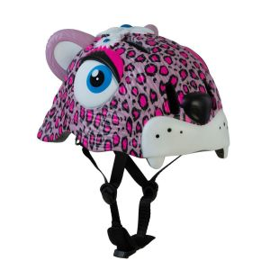 Защитный шлем CrazySafety Pink Leopard new