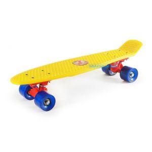 "Скейтборд RollerSurfer Promo Cruiser 22"" (желтый)"