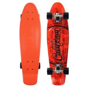 """Скейтборд Smj Sport Fishka 28"""" California (оранжевый)"""