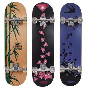 Скейтборд SMJ Sport Krown Bamboo CR-3108MN УЦЕНКА