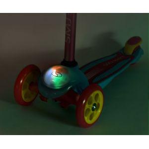 Самокат Smj Sport Mini LED (розовый)