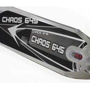 Самокат SMJ Sport Chaos (серый)