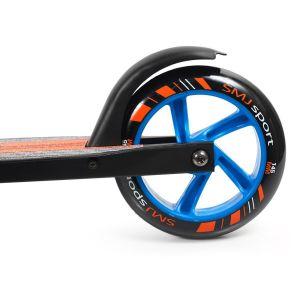 Самокат SMJ Sport NL-145 (черный/оранжевый)