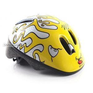 Шлем защитный SMJ Sport (желтый)