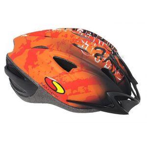 Шлем защитный SMJ Sport X-8M NC (оранжевый)