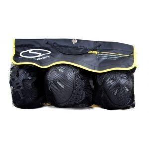 Комплект защиты для взрослых CR368 (черный)