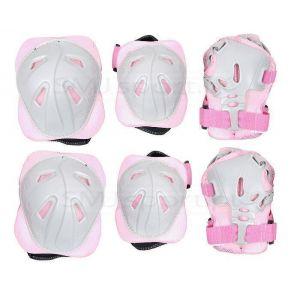 Комплект защиты для взрослых CR368 (розовый)
