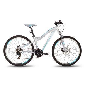 """Велосипед 26"""" PRIDE Bianca Disc серо-бирюзовый матовый 2016"""