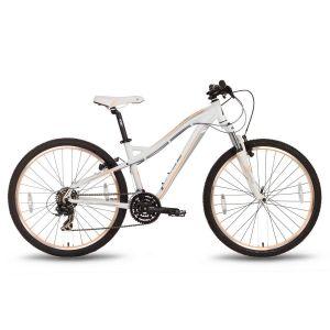 """Велосипед 26'' Pride Bianca V-br рама - 16"""" бело-персиковый матовый 2016"""