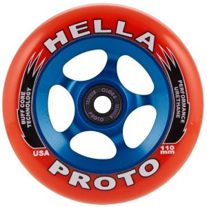 Колесо Proto X Hella Grip Pro Scooter Wheels (Red On Blue)