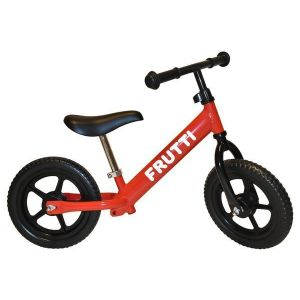 "Беговел Frutti 12"" Cherry black wheels (красный/черный)"
